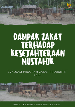 Dampak Zakat Terhadap Kesejahteraan Mustahik Evaluasi Program Zakat Produktif 2018